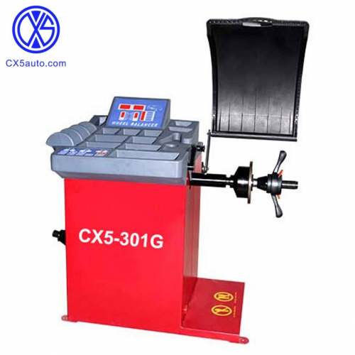 CX5-301G Quick start Wheel balancer