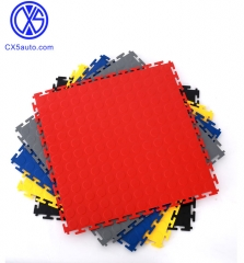 Industrial Interlocking Floor PVC floor mat, car wash shop floor