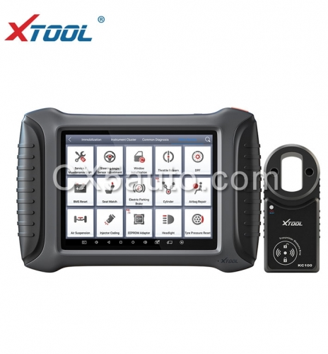 New Arrival XTOOL X100 PAD3 Global Version Auto Key Programmer with KC100 and EEPROM Adapter